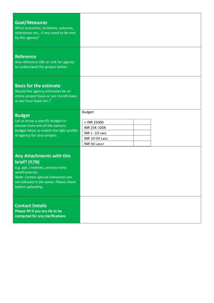 Preview2- Project Brief Template